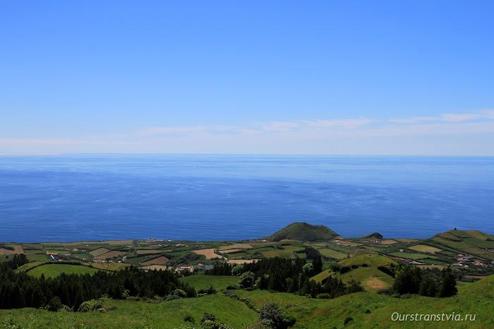 Азорские острова в Атлантическом океане