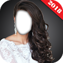 Bride Wedding Hairstyle Camera Photo Montage icon