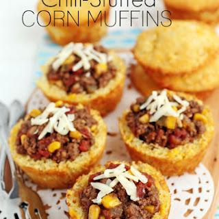 Chili Stuffed Corn Muffins