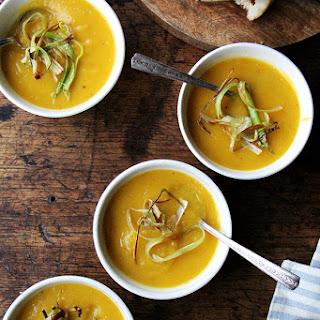 Slow-cooker Butternut Squash & Apple Soup.