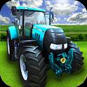 Big Farming Tractor Drive 3D icon