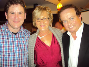Photo: Paul Byrnes (Editor, The Sunday Game), Fionnuala Howard and Marty Morrissey, Dinner Dance 2013