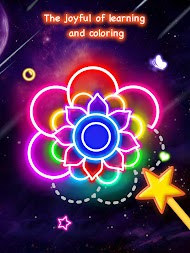Learn To Draw Glow Flower APK screenshot thumbnail 9