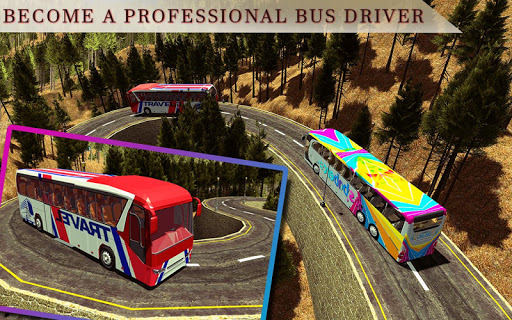 Heavy Mountain Bus simulator 2018 1.5 screenshots 8
