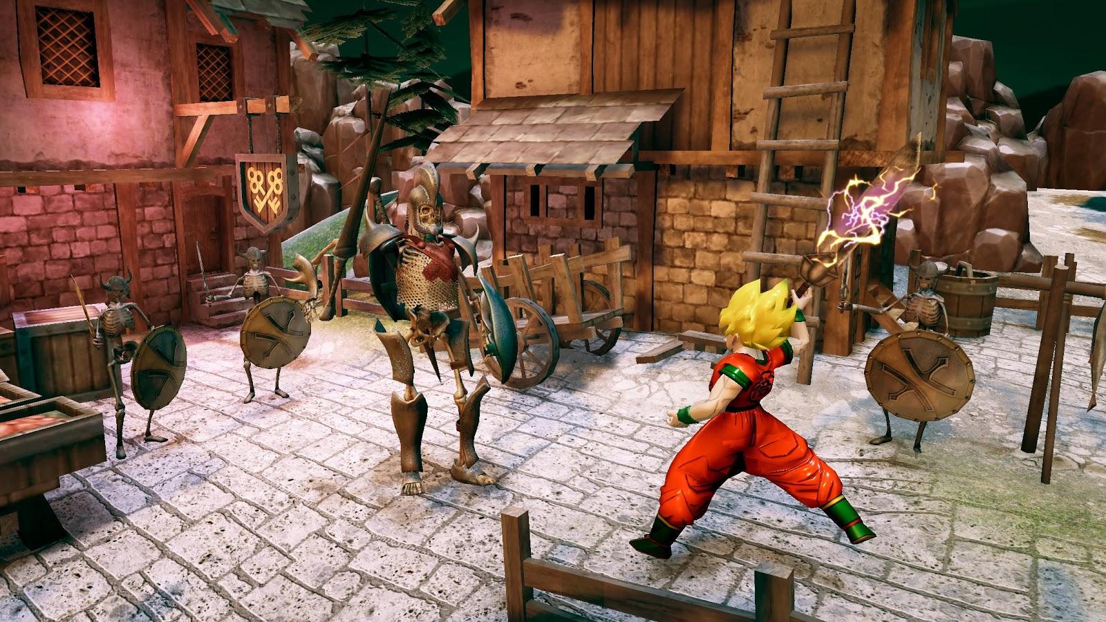 Goku hero super sayian fighting games google play android goku hero super sayian fighting games voltagebd Images