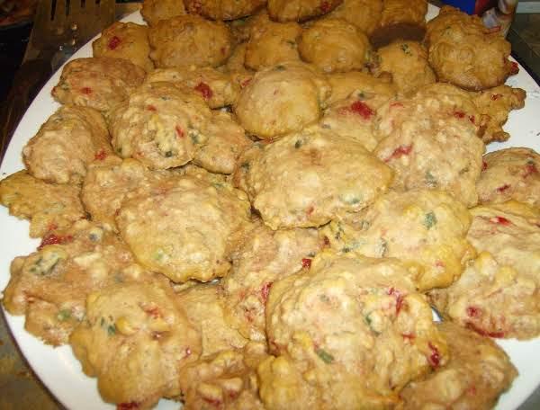 Lady Rose's White Fruit Cake Cookies