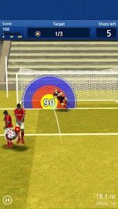 Finger soccer : Football kick 4
