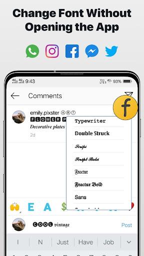 Font Changer - Cool Fonts Keyboard, Stylish Text 6.1 screenshots 4