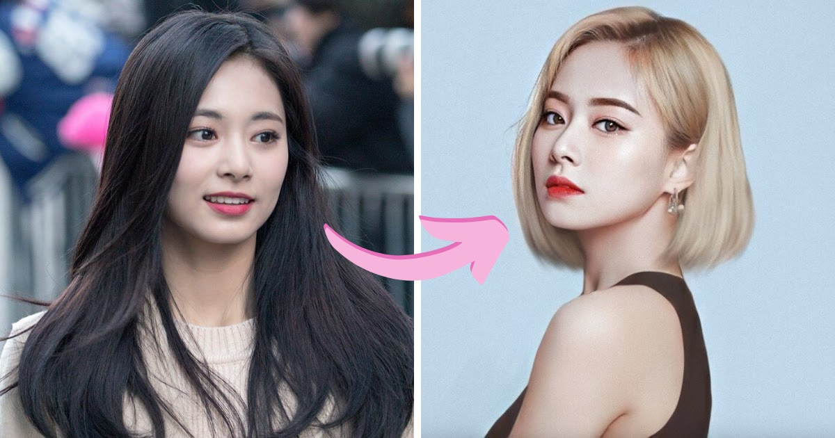 Here S How Every Twice Member Would Look With Long And Short Hair Koreaboo