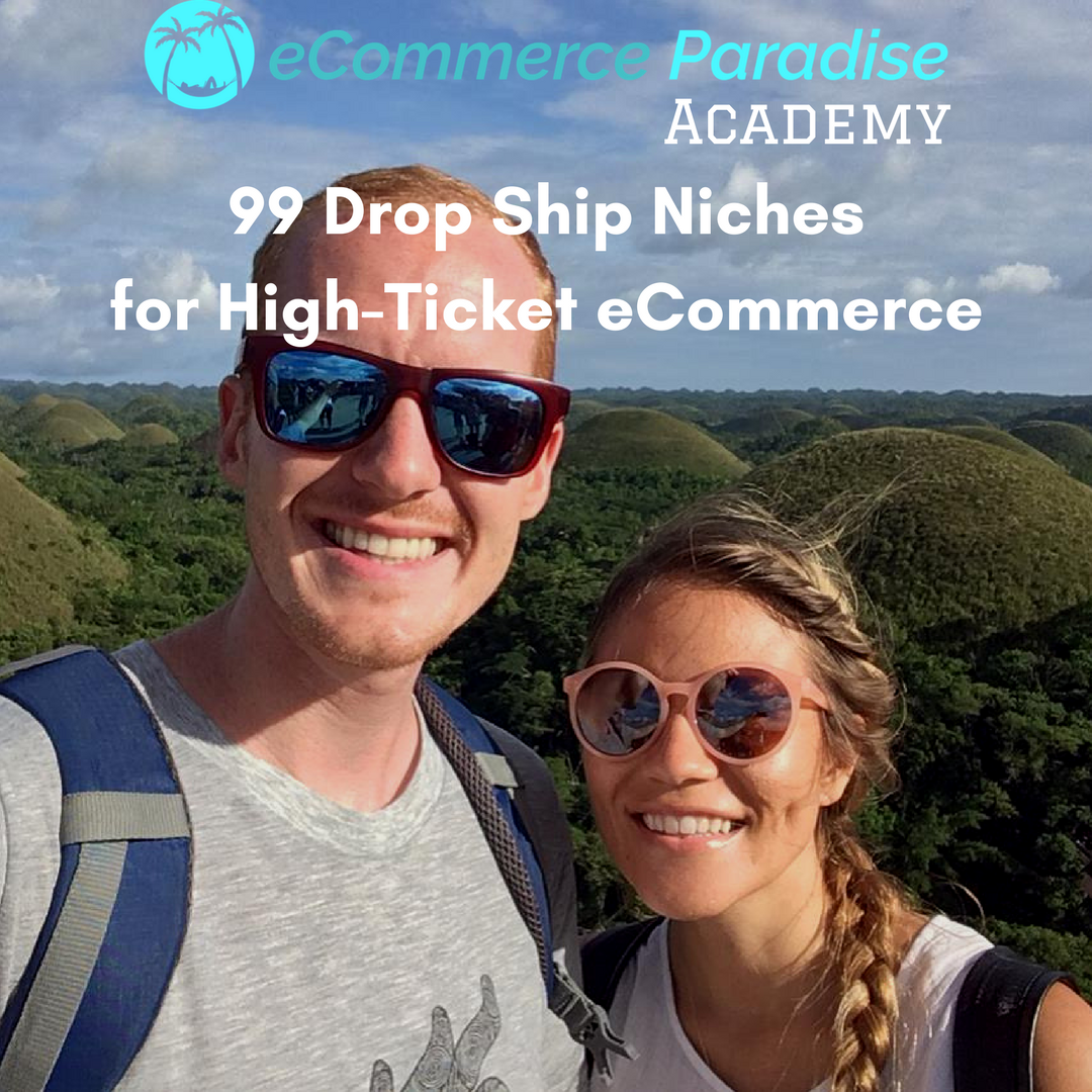 Click Here To Get My High-Ticket Drop Shipping Niches List For FREE