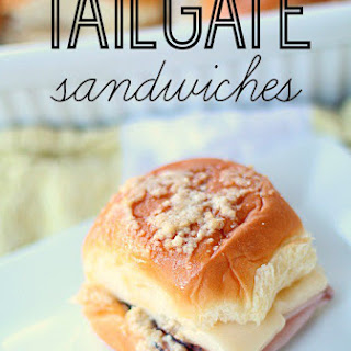 Tailgate Sandwiches.