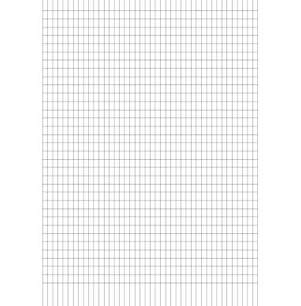 Arbetsblad A4 rut 5x8mm 500/fp
