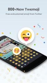 GO Keyboard Lite + Emoji Screenshot 1