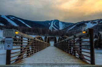 Photo: A Quiet Walk to the Mountain - Killington, Vermont