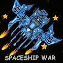 alien spaceship war shooting icon