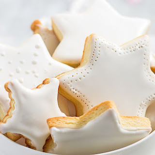 Star Cut-Out Cookies with Sugar Icing