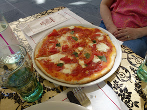 """Photo: """"First"""" Pizza (Magarita) in this trip"""