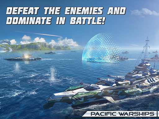 Pacific Warships: World of Naval PvP Warfare apktram screenshots 12
