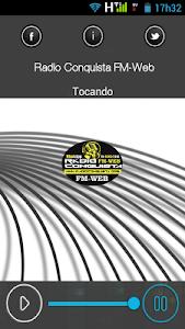 Rádio Conquista FM-Web screenshot 1