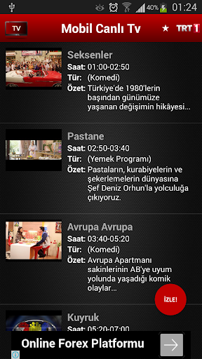 Mobil Canlu0131 Tv 2.4.6 Apk for Android 5