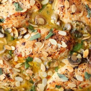 Chicken, Mushroom & Sage Casserole