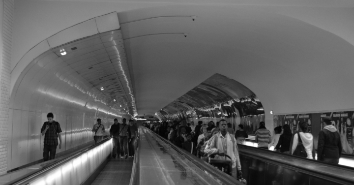 Attimi di vita nella Paris métro di davide.lucchin