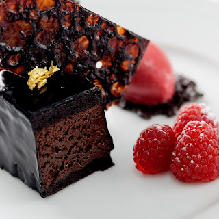Chocolate Mousse Cake With Raspberry Sauce Recipes