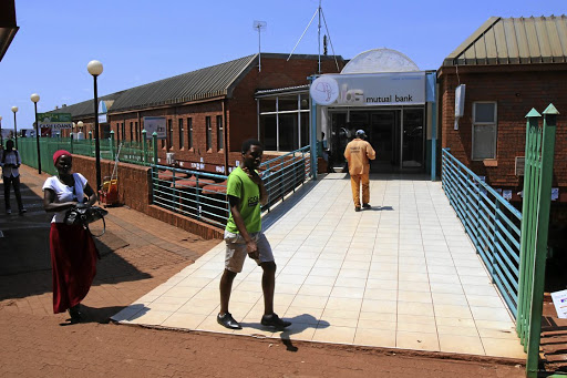 At the centre of it: VBS Mutual Bank in Thohoyandou, Limpopo. Picture: ANTONIO MUCHAVE/SOWETAN