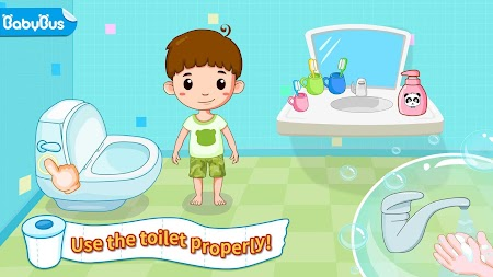 Baby Panda's Potty Training - Toilet Time APK screenshot thumbnail 1