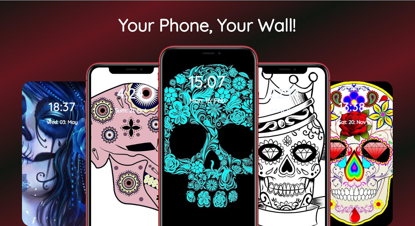 Download Sugar Skull Pictures Sugar Skull Wallpapers For