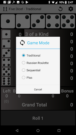 Five Dice! Free android2mod screenshots 4