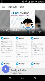 Terabyte Radio- screenshot thumbnail