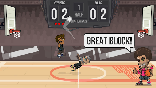 Basketball Battle MOD (Unlimited Money/Gold) 6