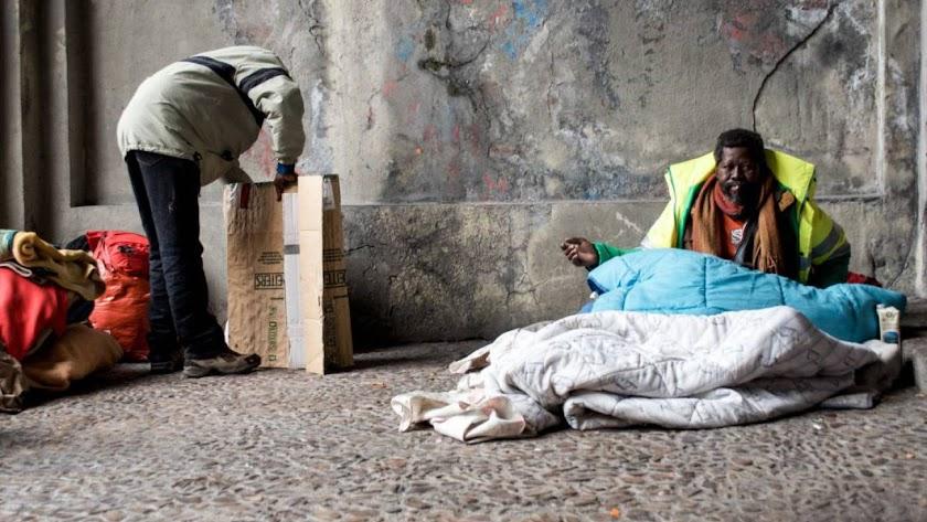 Inmigración, inmigrantes, pobreza, pobre, pobres, Sudafricanos / EUROPA PRESS (Javier Tormo)