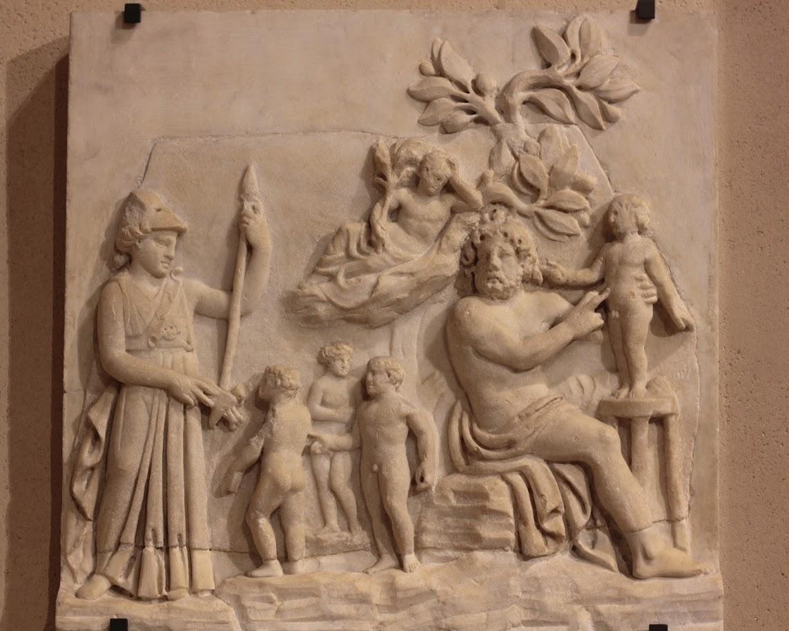 Δημιουργία ανθρώπου από Θεούς, Creation of Man by Gods.