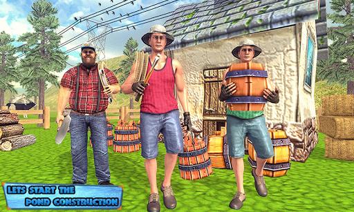 Fishing Farm Construction Sim 2019 download 2