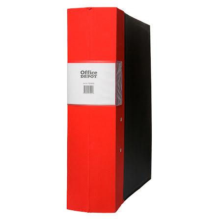 Träryggspärm A4 80mm röd