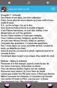 Musique Ninho Album Nouveau Paroles - náhled
