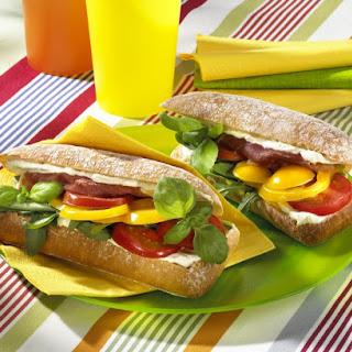 Italian Ciabatta Sandwiches.