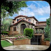 Luxury Houses Tile Puzzle