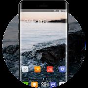 Theme for sea stone oppo r17 icon
