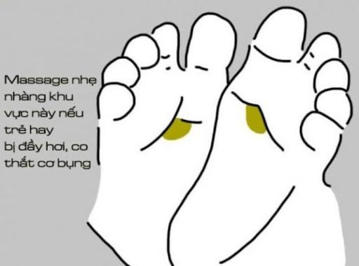 Thuộc lòng những cách massage chân cho trẻ để bé khỏe mạnh mỗi ngày