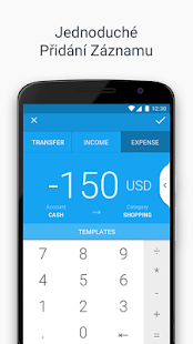 Wallet - správa peněz, výdaje, věrnostní karty aj. - náhled
