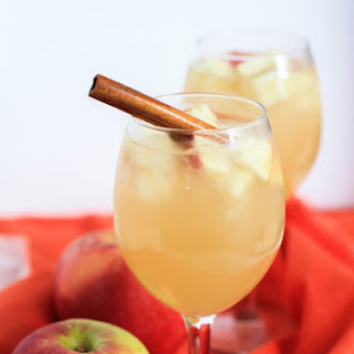 Apple Cider Sangria.