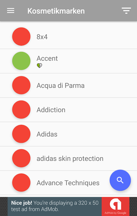 kosmetik ohne tierversuche android apps on google play. Black Bedroom Furniture Sets. Home Design Ideas