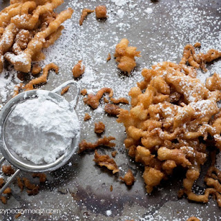 Easy to Make Funnel Cake.