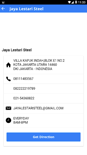 Jaya Lestari Steel for PC
