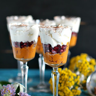 Healthy Roasted Butternut Squash Trifle