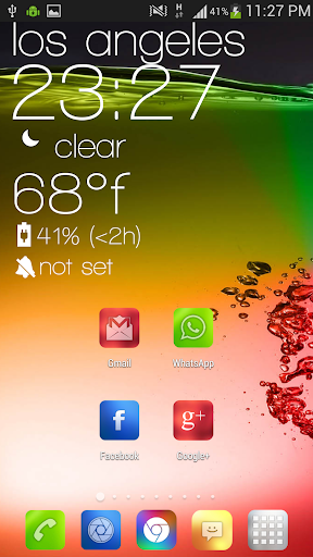Blur Color Theme & Icon Pack 1.9 screenshots 4