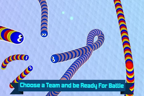 Worm Slither 🐍 Team Up Battle- screenshot thumbnail